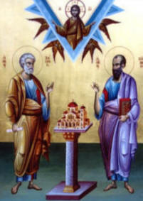 Icon: Sts Peter & Paul June 29