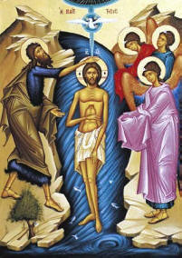 Icon: Theophany January 6