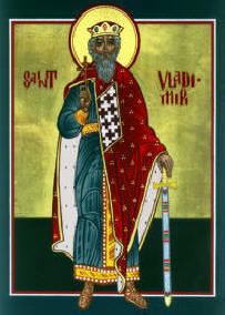 Icon: St. Vladimir July 15